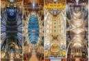 Американский фотограф снял вертикальные панорамы церквей Нью-Йорка