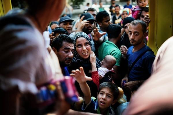 Австрия примет сегодня около 10 тысяч беженцев