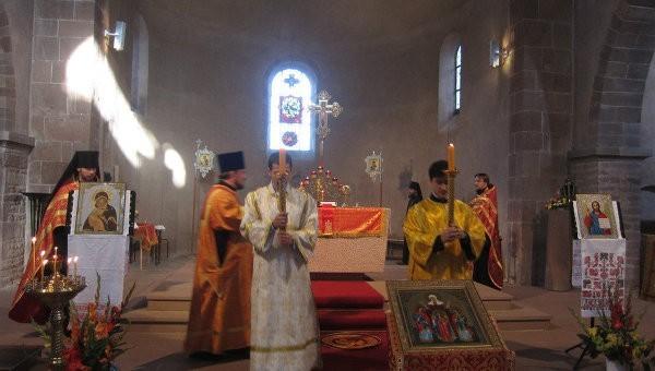 Русская Церковь отпразднует во Франции память святых Веры, Надежды, Любови и Софии