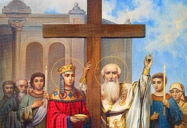Картинки по запросу Воздвижение креста Господня