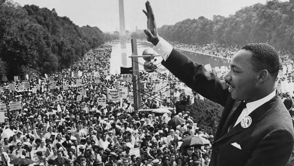 Мартин Лютер Кинг. Выступление у мемориала Линкольну