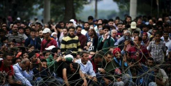 Беженцы в Европе. Глазами очевидца