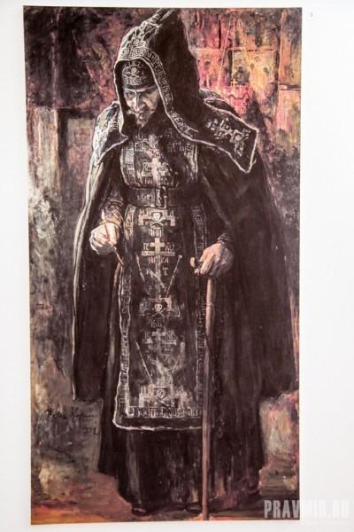 Павел Корин: Схимник отец Агафон 1932 г