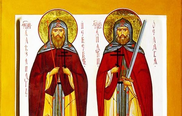 Православные чтут память святых воинов Александра Пересвета и Андрея Осляби