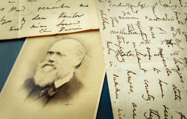 Письмо Дарвина о неверии в Библию продано за 197 тыс долларов