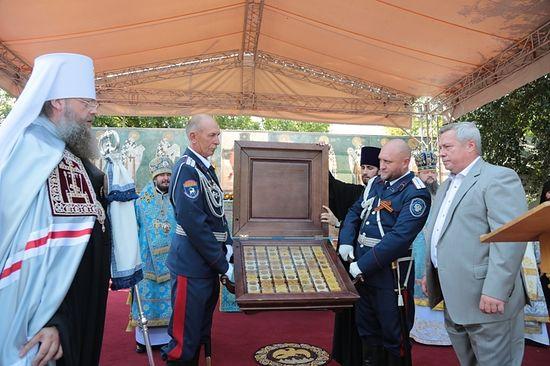 Донская митрополия получила считавшиеся ранее утраченные святыни