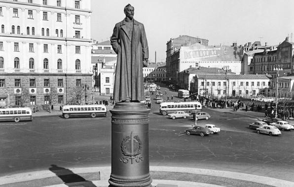 Памятник Дзержинскому предлагают поставить около Павелецкого вокзала