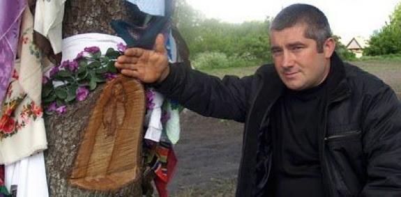 Руслан Литовченко с «чудотворной» грушей