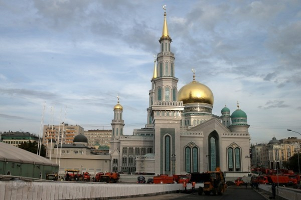 Соборную мечеть открыли в Москве после 10 лет реконструкции