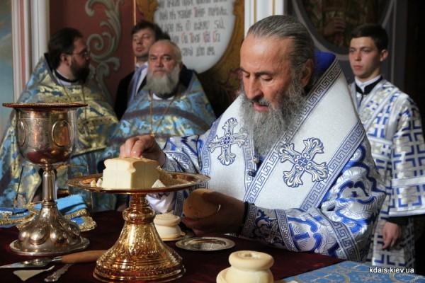 Митрополит Киевский Онуфрий помолился обо всех погибших и пострадавших у Верховной Рады