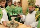 Пострадавший во время военных действий храм освящен под Луганском
