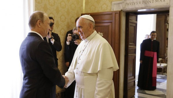 Папа Римский встретится с Владимиром Путиным