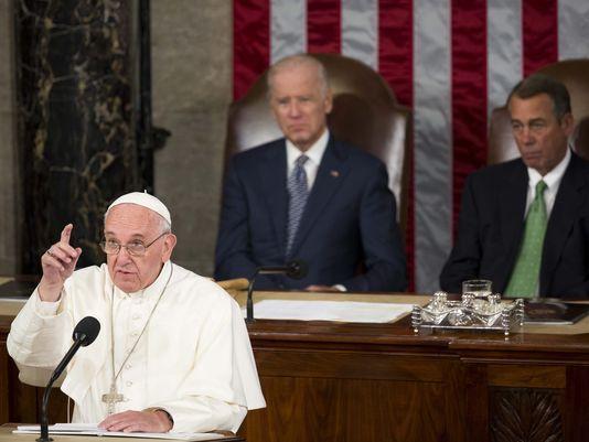 Папа Римский разочаровал сенаторов своей речью в Конгрессе