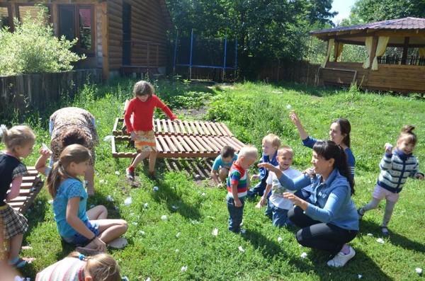 Лагерь-реабилитация: пусть детям не будет страшно