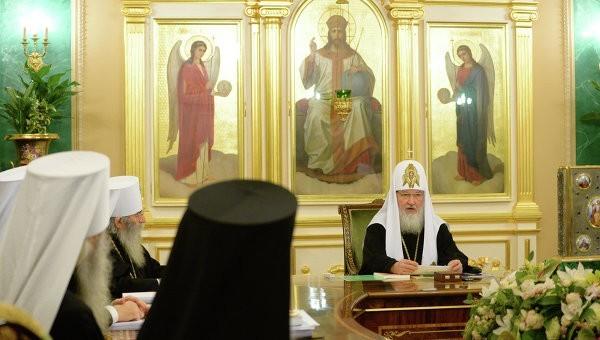 Заседание Священного Синода проходит в Москве