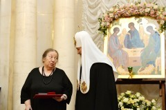 Патриарх Кирилл вручил премии памяти митрополита Макария (+фото)