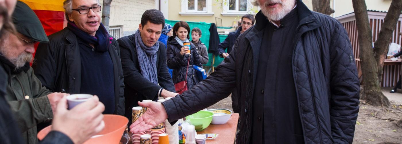Более 600 тысяч рублей собрано на благотворительном аукционе Троицкого храма в Хохлах