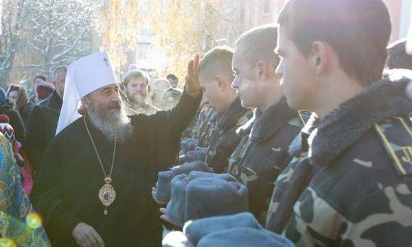 Институт военного духовенства будет создан в Украинской Православной Церкви