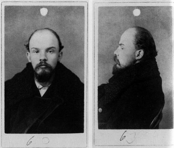 Владимир Ульянов во время ареста по подозрению в участии в «Союзе борьбы за освобождение рабочего класса». Санкт-Петербург, 1895.