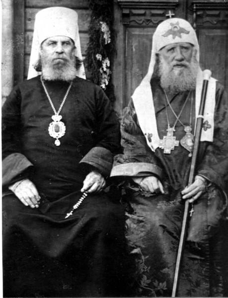 Святой Патриарх Тихон и священномученик Петр, митрополит Крутицкий