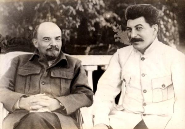 Ленин и Сталин, 1921 год