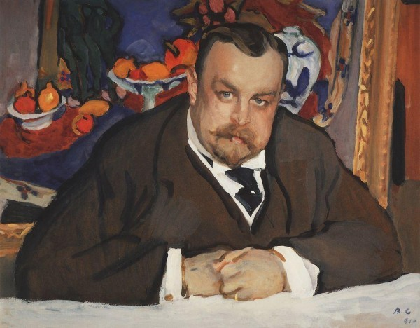 Портрет Ивана Морозова. Третьяковская галерея