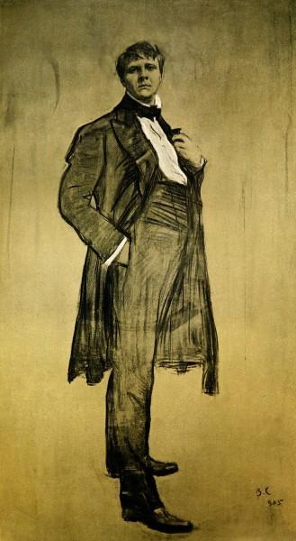 Портрет Ф.И. Шаляпина 1905 год. Третьяковская галерея