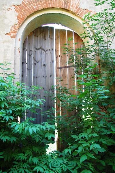 Ворота в каменном Троицком храме