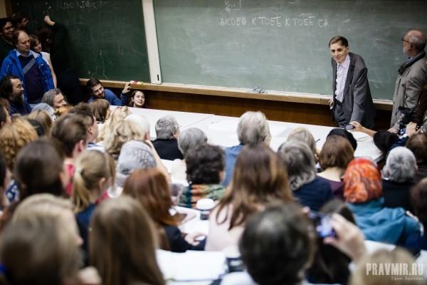 Лекция знаменитого лингвиста Андрея Анатольевича Зализняка