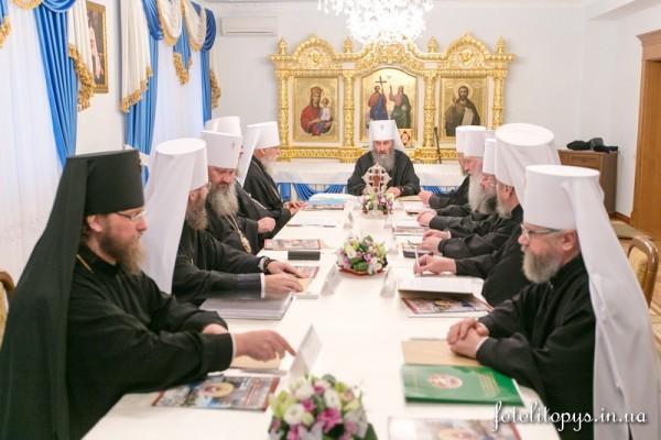 Журналы заседания Священного Синода Украинской Православной Церкви от 27 октября 2015 года