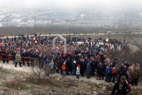 Магадан. 1996 год