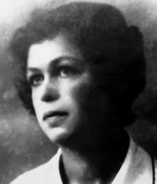 Валентина Алексеевна Кондратьева, мать автора воспоминаний