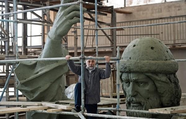 Памятник князю Владимиру на Боровицкой площади будет установлен весной 2016 года