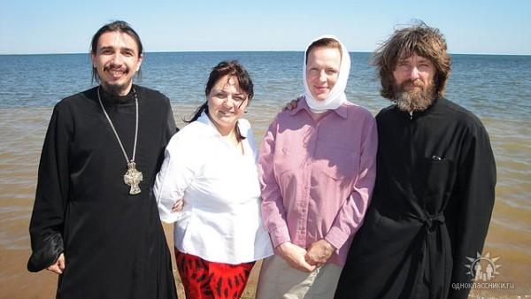 Со знаменитым путешественником и священником Федором Конюховым