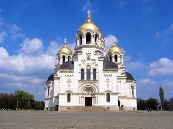 Патриарх Кирилл освятил собор в столице Донского казачества