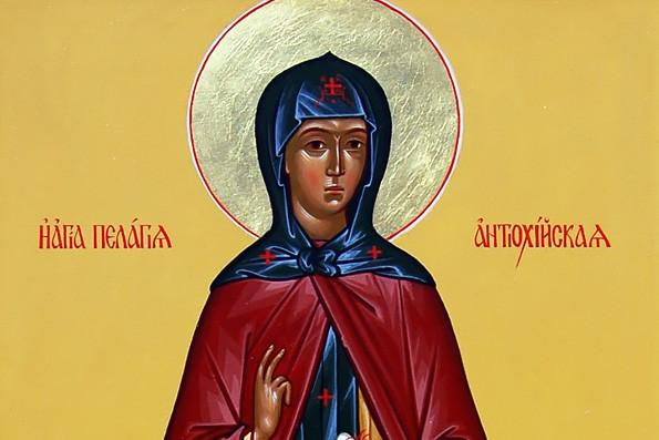 Церковь чтит память преподобной Пелагии Антиохийской