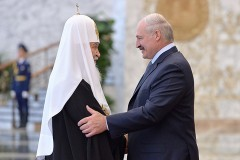 Патриарх Кирилл поздравил Александра Лукашенко с победой на выборах Президента Беларуси