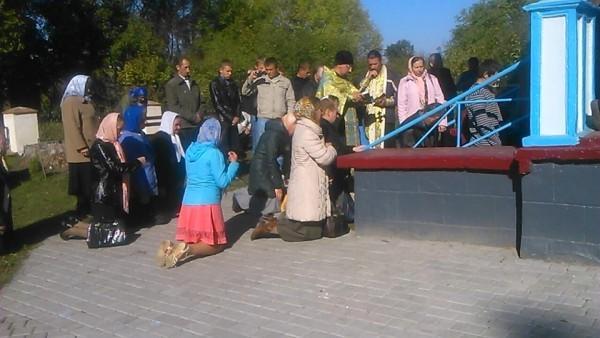Чиновница способствовала захвату православного храма в Ровненской области
