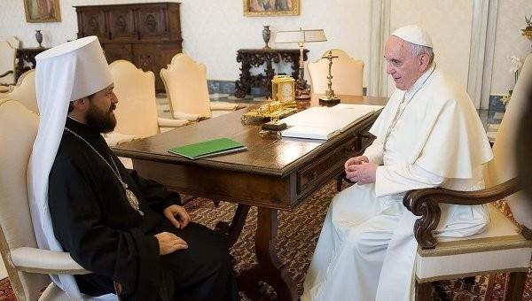 Посол Ватикана: папа Франциск стремится к развитию диалога с РПЦ