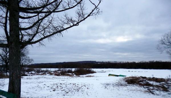 Замёрзшая Березина у Студёнки