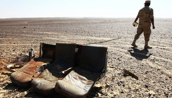 Крушение самолета А321 было вызвано терактом