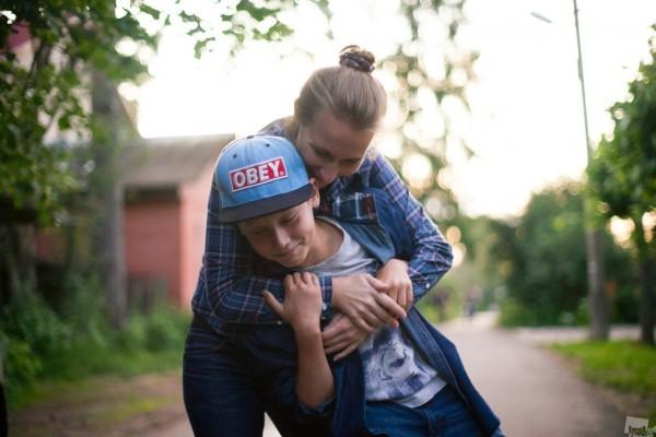 Мать и сын. Александр Сазонов/thebestofrussia.ru