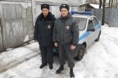 Карельские полицейские спасли мужчину, провалившегося под лед