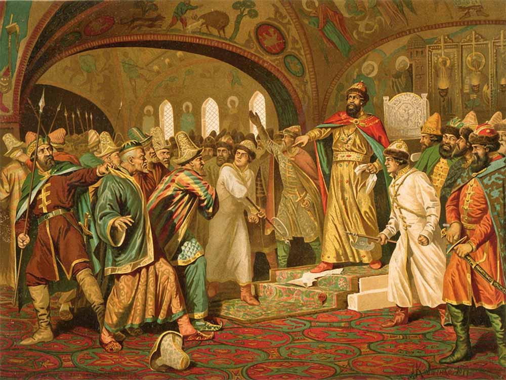 Церковная реформа была чаянием, идеей и программой царя алексея михайловича