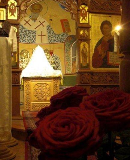 В соборе Новомучеников и исповедников российских в Мюнхене