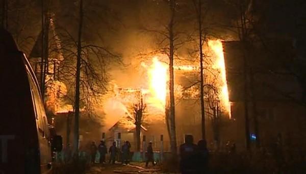 В Иваново восстановят старинный сгоревший храм