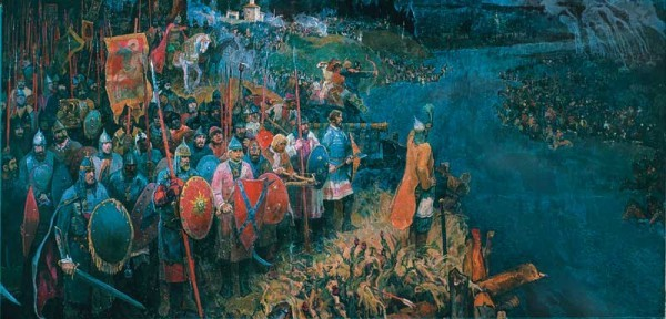 "Диорама ""Великое Стояние на реке Угре"""