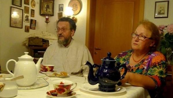 Протодиакон Георгий и матушка Елена Витальевна Кобро