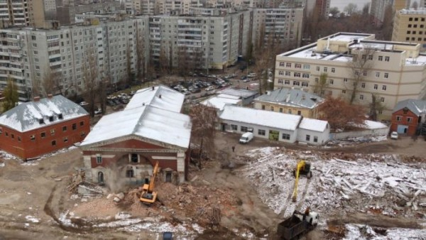 Старинную церковь сносят в Воронеже