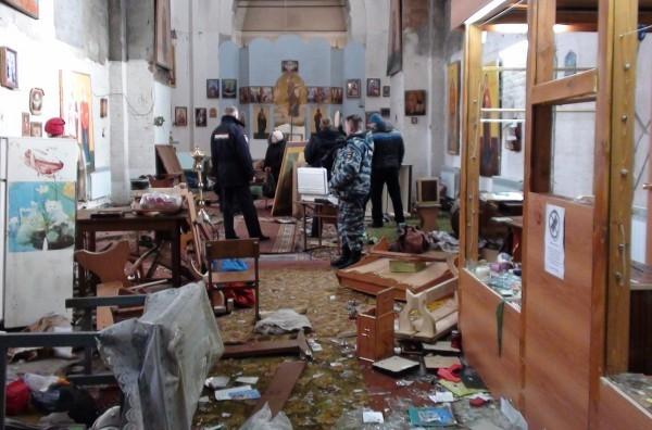 Полиция Нижнего Тагила задержала мужчину, устроившего погром в храме